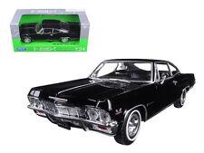 1965 Chevrolet Impala SS 396 Black Street Car 1:24 Diecast - 22417bk *