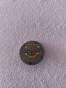 Amateur Swimming Association Bronze Standard Pin Badge Personal Survival Vintage