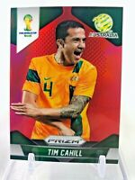 2014 Panini Prizm World Cup TIM CAHILL Red Prizm 79/149 Australia #17 Rookie