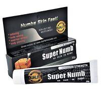 30g - 600g SUPER NUMB Numbing Cream Numb Tattoo Piercings Waxing Laser Dr
