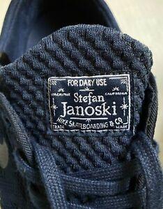 Nike SB Stefan Janoski Max Midnight Navy 631303-441 Mens Size 8 Skateboard Daily