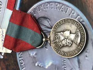 imperial service medal For Faithful Service-Elizabeth II silver medal