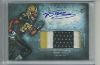 NICK TOON RC AUTO 3 COLOR PATCH 2012 TOPPS INCEPTION SAINTS BADGERS