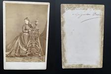 Bergamasco, Saint Pétersbourg, Augustine Devéria Vintage albumen print.