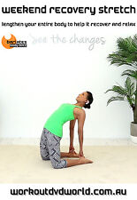 Yoga Stretching EXERCISE DVD - Barlates Body Blitz WEEKEND RECOVERY STRETCH!
