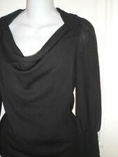 PIAZZA SEMPIONE LAVIA 18 Long Sleeve Top Blouse ~80%Wool, 11%poly~40/ US6