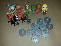 Marvel avengers blip bobble head lot Hulkbuster red skull thor venom loki hulk