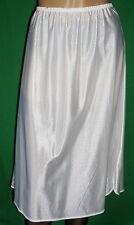 PERLGLANZ 50/60er VINTAGE Perlon/Nylon HALB-Unterkleid-Unterrock Gr.44 *NEU (632