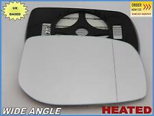 Wing Mirror Glass For TOYOTA AURIS YARIS 2005-12 Wide Angle HEATED Right #JT027