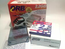 ORB CASTLEWOOD 2.2GB REMOVABLE MEDIA ULTRA SCSI BACKUP KIT NEW            ac2c4