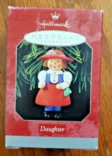 VINTAGE CHRISTMAS ORNAMENT – 1998 – HALLMARK KEEPSAKE – DAUGHTER