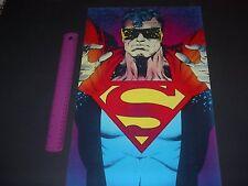 DC COMICS THE ERADICATOR POSTER PIN UP DEATH OF SUPERMAN