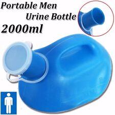Portable Chamber Pot Bottle 2000ML Toilet Camping Men Travel Elder Male Urine nP