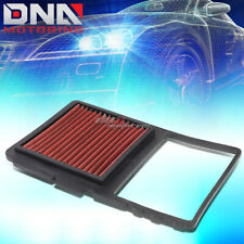 FOR 04-09 TOYOTA PRIUS RED REPLACEMENT RACING HIGH-FLOW DROP IN AIR FILTER PANEL