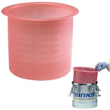 10 Binks Devilbiss 2.7 Gallon PAINT PRESSURE FEED POT TANK LINERS PT-52 Spray