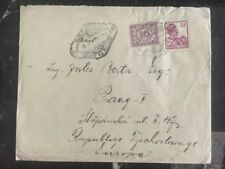 1931 Java Netherlands Indies Cover To Prague Czechoslovakia