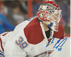 Montreal Canadiens Mike Condon Signed Autographed 8x10 NHL Photo COA