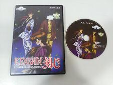 KENSHIN EL GUERRERO SAMURAI DVD VOL 22 CAP 65-67 + EXTRAS MANGA SELECTA VISION