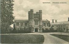 Princeton University Gymnasium Blank Postcard Published by H.M. Hinkson-1