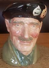 """Royal Doulton Large Character Jug Vintage Monty ~ D6202 Old Mark ~ 6"""""""