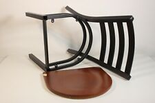 Flash Furniture Hercules Series Black Ladder Back Metal Restaurant C Preowned