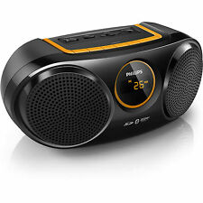 PHILIPS AT10 WIRELESS PORTABLE SPEAKER+BLUETOOTH+FM+USB+SD CARD+RECHARGEABLE