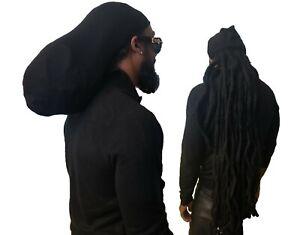 Natty Dreadlocks Rasta Stocking Hat Tam Rastafarian Dread Locks Hair XL/XXL Ras
