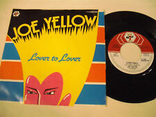 JOE YELLOW  Lover To Lover  1 SP