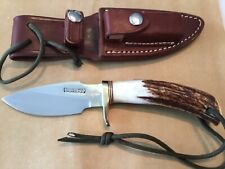 Randall Made Custom Stag/Compass Vintage Fixed Blade Knife
