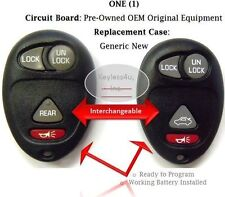 Keyless entry remote Olds Buick keyfob clicker control beeper transmitter phob