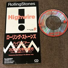 """ROLLING STONES  Highwire JAPAN 3"""" CD SINGLE CSDS8184 Not-snapped Free S&H"""