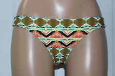 NEW Volcom Burnt Sienna Reversible Swimwear Hipster Bikini Bottom S Small