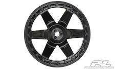 "PRO-LINE 2730-03 Desperado 2.8"" (Traxxas Style Bead) Black Wheels Electric Rear"