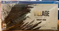 Resident Evil Village Collector's Edition PS4/PS5 Playstation 4 SHIPS TODAY** 🔥