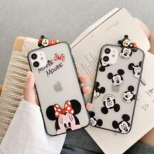 For Samsung Hot Cute Cartoon Creative Minnie Women Girl Soft Phone Case Cover