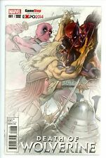 Death of Wolverine 1 Variant NM Gamestop