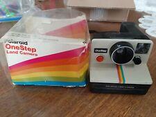 Vintage Polaroid One Step Land Camera rainbow SX-70