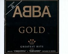 CD	ABBA	gold 	SPAIN EX	with spanish songs	 (R2795)