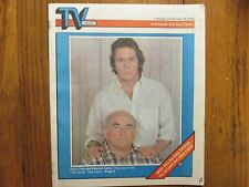 February 9, 1986 Minneapolis Star TV Week Mag(GARY  COLE/ED  ASNER/VITAL  SIGNS)