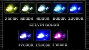 9006 HB4 Auto Xenon HID Conversion AC Kit Lo Beam 6000K 8000K 10000K 12000K AC