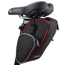 Roswheel Cycling Seat Pouch Bicycle Tail Rear Storage Bike Saddle Tube Bag Black