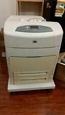 HP Laserjet 5550hdn Printer Bundle with 4 cartridges
