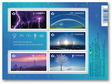 2015 Weather Wonders: Souvenir sheet of 5 domestic stamps SC#2838