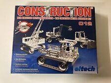 Eitech Construction C12 Metall-Baukasten Baukasten Für Kinder 8+