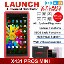 LAUNCH X431 PROS MINI OBD2 Auto Diagnostic Scanner Tool Full Car Models V+ V Pro