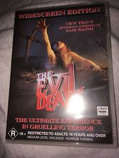 The Evil Dead Widescreen Edition Including Booklet DVD Cult Horror Classic R18+