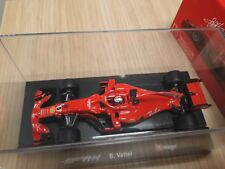 Sebastian Vettel Ferrari SF71H Formule 1 2018 with figure 1/43 new