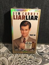 Liar Liar {VHS} Jim Carrey -1997 Brand New Factory Sealed