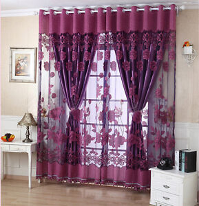 High-Grade 1PC 1*2.7m Finished Product Living Room Curtain Screens With Beads
