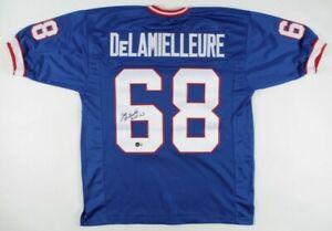 "Joe DeLamielleure Signed Jersey Inscribed ""HOF '03"" (Beckett Hologram)Buffalo..."